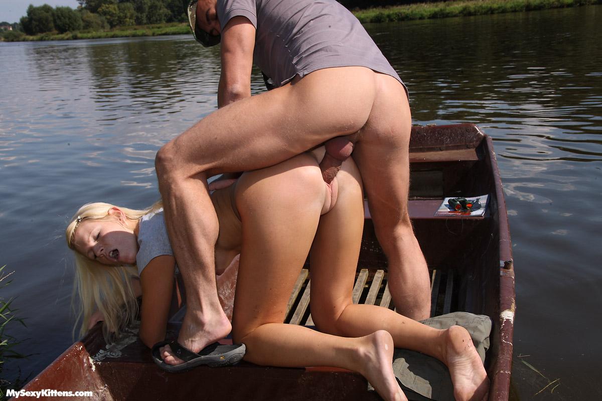 красиво порно на озере