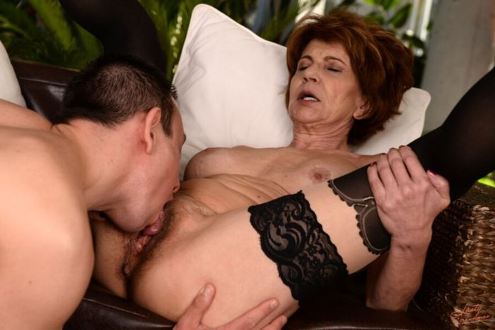 Hot mom and son massaging porn